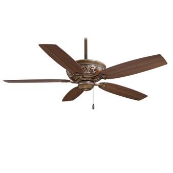 """Classica 54"""" Indoor Ceiling Fan in Belcaro Walnut"""
