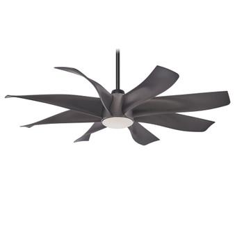 """Dream Star 60"""" LED Ceiling Fan in Graphite Steel"""