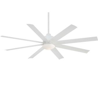"""Slipstream 65"""" LED Outdoor Ceiling Fan in White"""