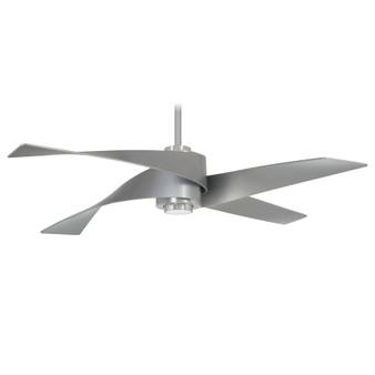 "Artemis IV 64"" LED Ceiling Fan in Brushed Nickel"