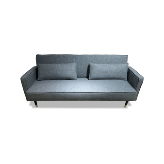 Sofa Bed in Heathered Aqua