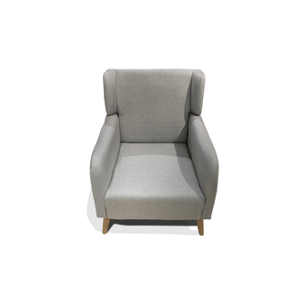Accent Chair in Light Grey