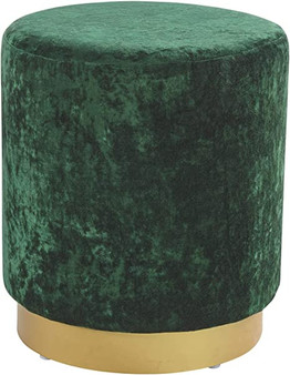 Lancer Accent Ottoman in Green