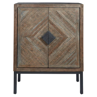 Premridge Bar Cabinet in Antique Gray