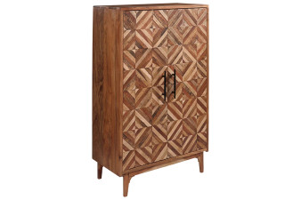 Cabinwell Accent Cabinet in Two-Toned Brown