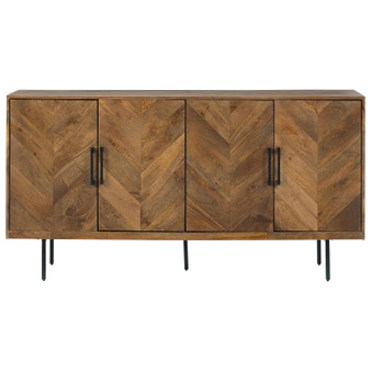 Prattville Accent Cabinet in Brown