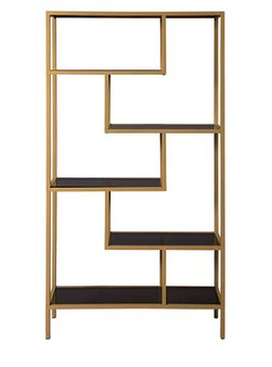 Frankwell Bookcase in Gold