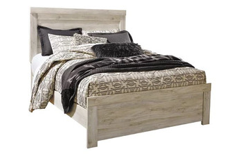 Bellaby Queen Bedframe in White Wash