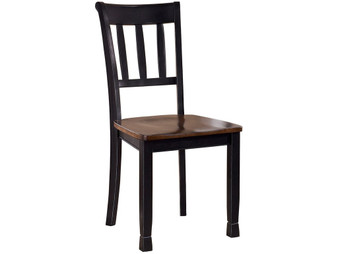 Owingsville Dining Chair in Brown and Black