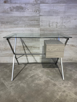 "39"" Home Office Desk in Gray"