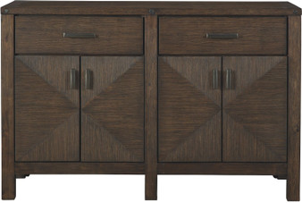 Dellbeck Dining Server in Brown