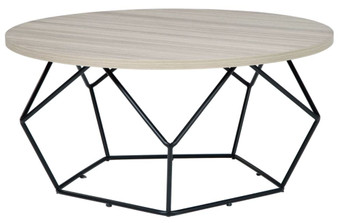 Waylowe Cocktail Table in Light Brown and Black