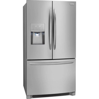 "Frigidaire 36"" French Door Refrigerator in Stainless Steel"
