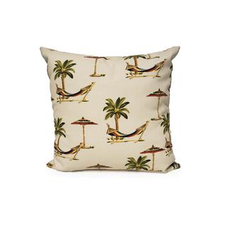 """Palm 18"""" Throw Cushion in Multi"""