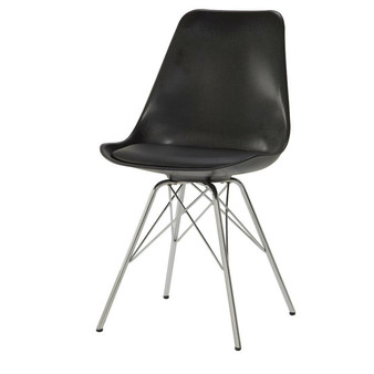 Lowry Dining Chair in Black