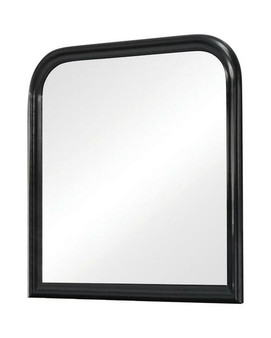 Louis Philippe Mirror in Deep Black