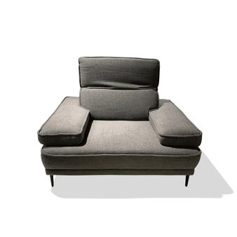 Dublin Sofa Chair in Dark Grey