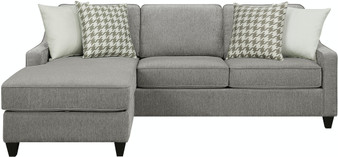 Scott Storage Sectional in Charcoal