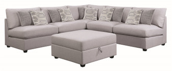 Cambria Modular Sectional in Grey