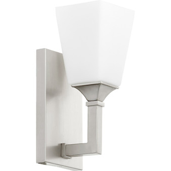 Wright 1 Light Wall Sconce in Satin Nickel