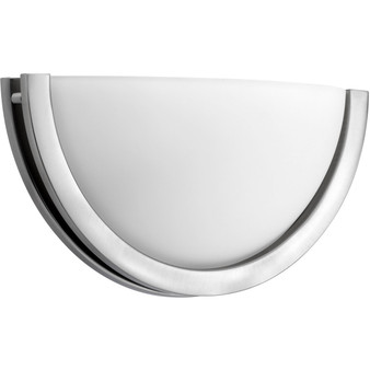 Forth Worth LED Wall Sconce in Satin Nickel