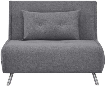 Foldable Sofa Bed in Gris Oscuro