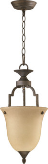 Coventry 1 Light Pendant in Toasted Sienna