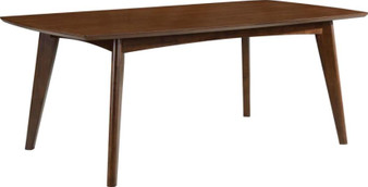 Malone Rectangular Dining Table in Walnut