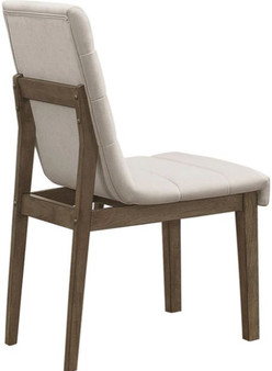 Torrington Dining Chair in Gray and Brown