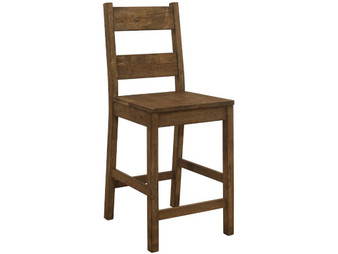 Coleman Counter Height Dining Chair in Brown