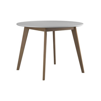 Breckenridge Dining Table in White and Oak