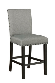 193128 Counter Height Chair in Grey
