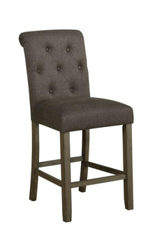 193178 Counter Height Chair in Grey