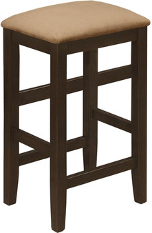 193479 Counter Height Stool in Cappuccino