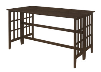 193478 Counter Height Dining Table in Cappuccino