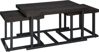 Airdon Coffee Table Set in Broze