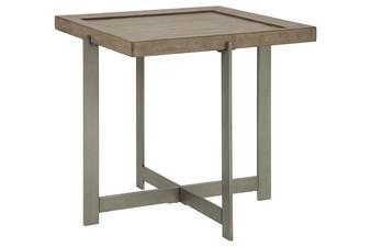 Krystanza End Table in Bisque