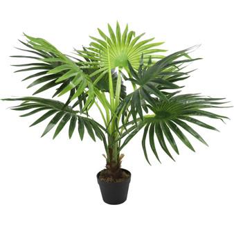 """Fan Palm 35"""" Artificial Tree"""