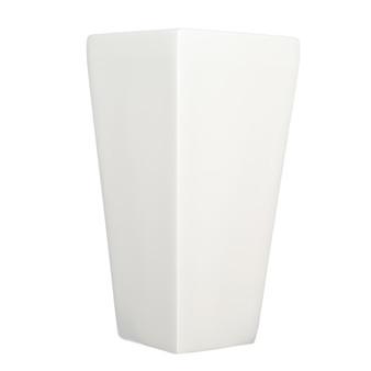 """Fiberglass 14"""" Planter in White"""