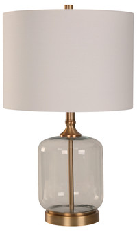 1 Light Table Lamp in Glass
