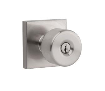 Bilboa Entry Lock in Satin Nickel