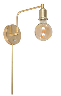 22912 1 Light Wall Sconce in Satin Gold