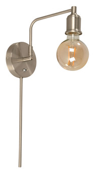 22912 1 Light Wall Sconce in Brushed Nickel