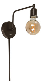 22912 1 Light Wall Sconce in Brown