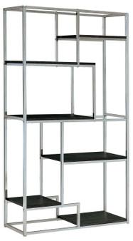 Elvira Display Shelf in Chrome