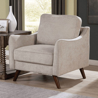Maxime Accent Chair in Chenille