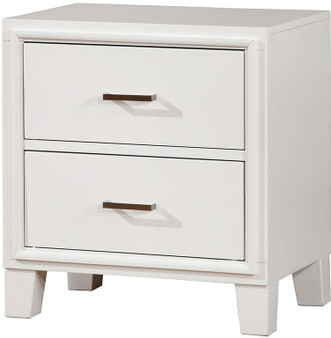 Enrico I Nightstand in White