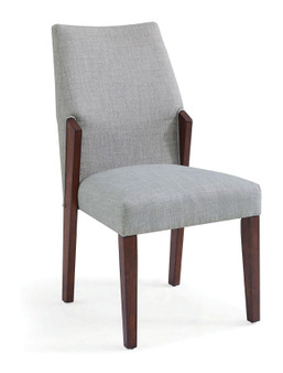 Brighid Dining Chair in Light Gray