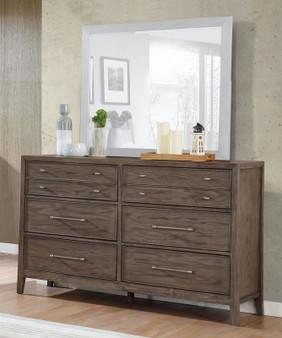 Tawana Dresser in Warm Gray