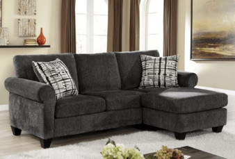 Jordanna Sectional in Gray